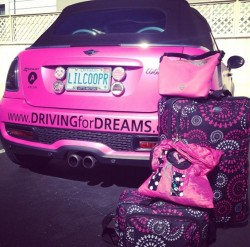 Hot Pink 2013 Mini Cooper S Convertible
