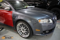 Carmine Red Audi S4 Wagon
