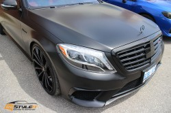 The All Black Mercedes S63