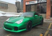 Envy Green Porsche 911 Turbo