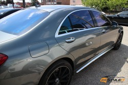 Gloss Metallic Grey Mercedes S65