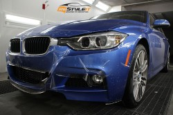 2015 BMW 335 Mpack clear paint protection