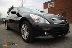 Gloss Metallic Black Infiniti G37X