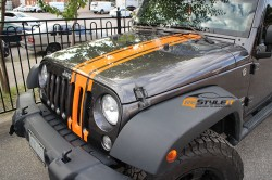 Jeep Wrangler Unlimited Stripes