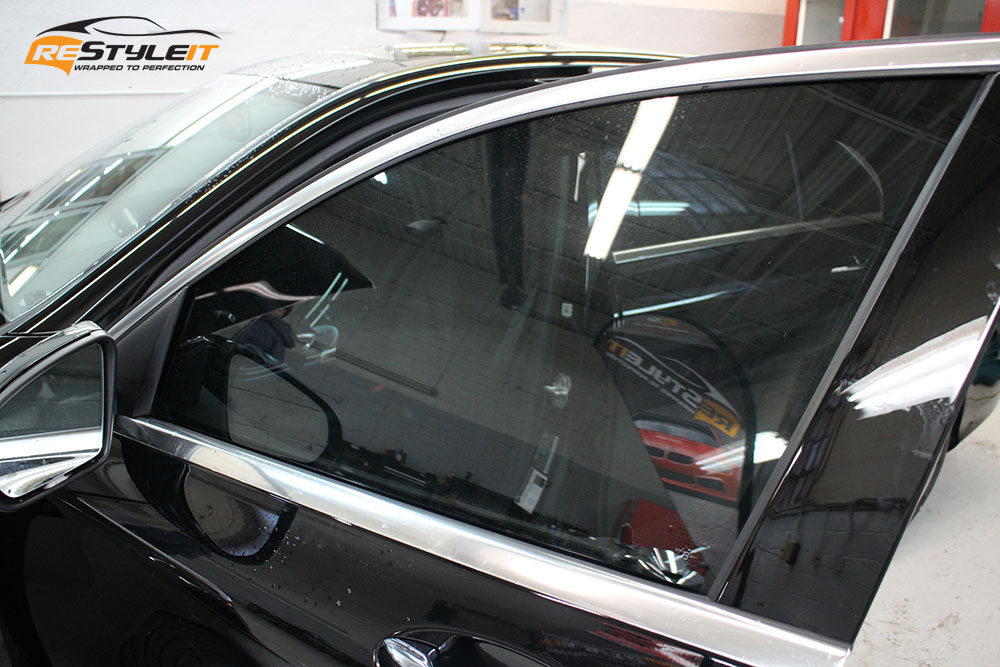 Mercedes C300 Clear Paint Protection And Window Tint