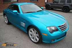 Atomic Teal Chrysler Crossfire