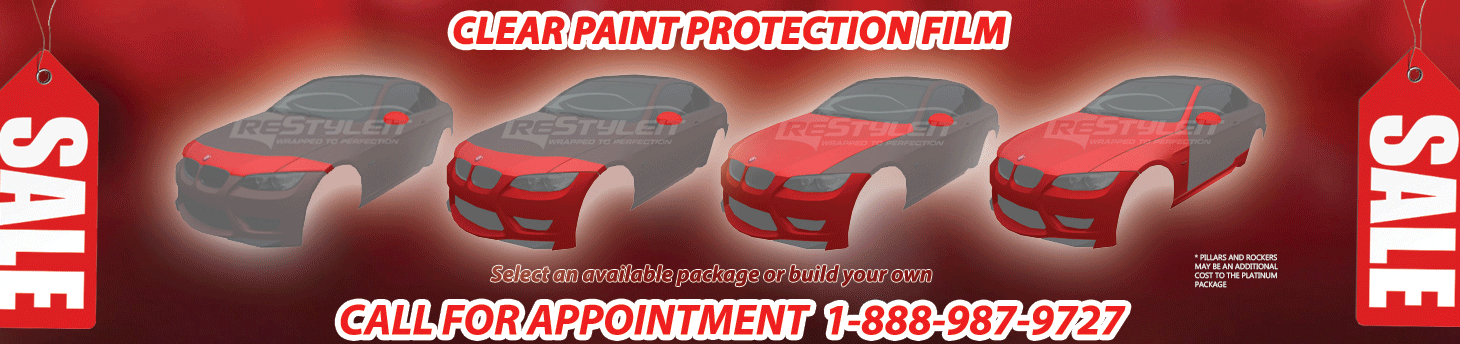 Toronto 3M Paint Protection Clearbra