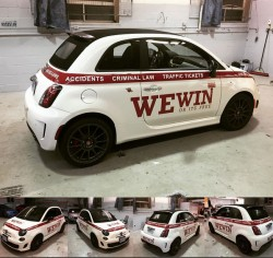 WE WIN OR IT'S FREE FLEET WRAP