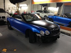 Satin Perfect Blue Bentley