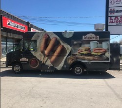 JOHNSONVILLE SAUSAGE PROMOTIONAL TRUCK
