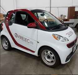 VIRELEC PROMOTIONAL CAR
