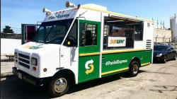 SUBWAY PANINI PROMOTIONAL TRUCK