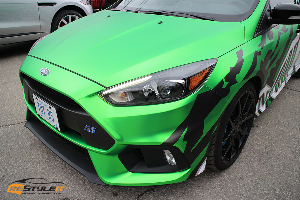 Custom Ford Focus Rs Wrap Vehicle Customization Shop